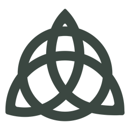 Ancient celtic symbol icon