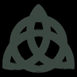 Ícone antigo símbolo celta