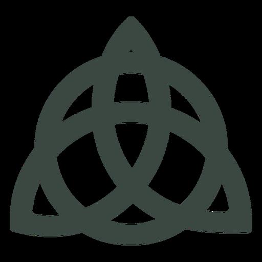 Ícone antigo símbolo celta Transparent PNG