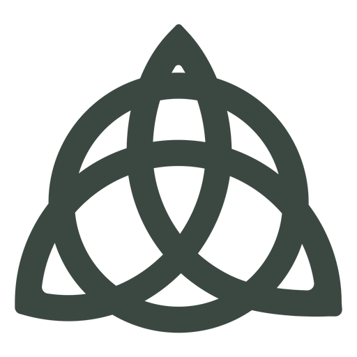 Ancient celtic symbol icon Transparent PNG