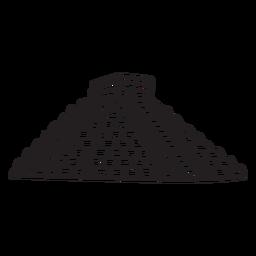 Templo antigo asteca méxico acidente vascular cerebral