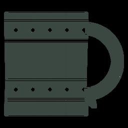 Beer mug icon mug