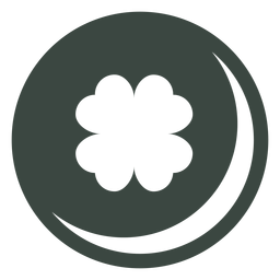 Clover four leaf icon