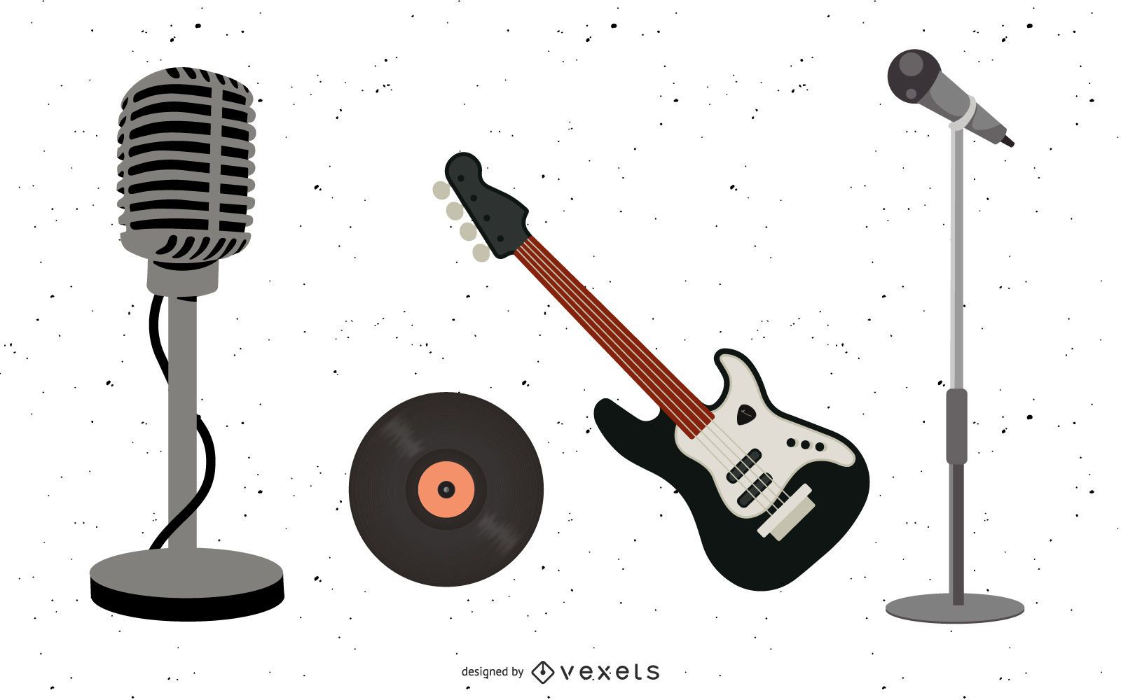 Musical Equipment Set