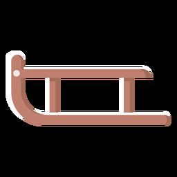 Ilustración de trineo de Finlandia