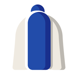 Ilustração de chapéu de inverno finlandês