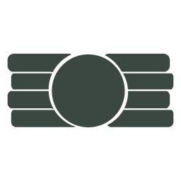 Flat symbol icon