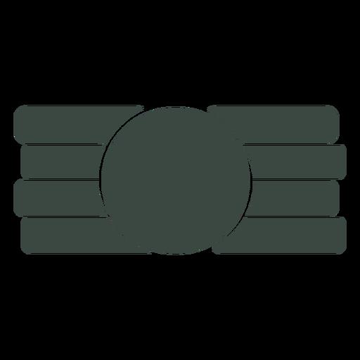 Icono de símbolo plano Transparent PNG