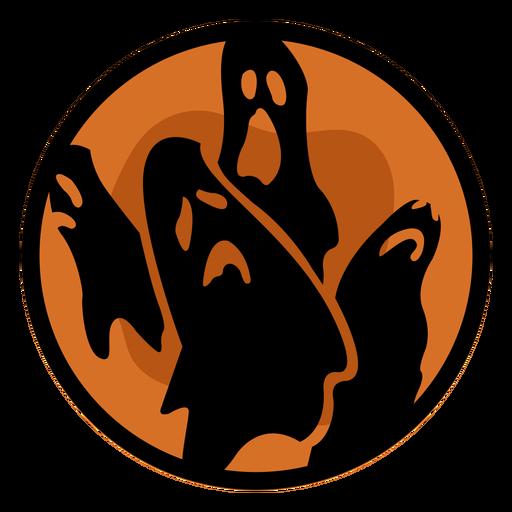 Halloween papercut ghosts