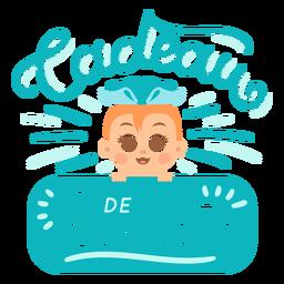 Letras francesas de presente de felicidade