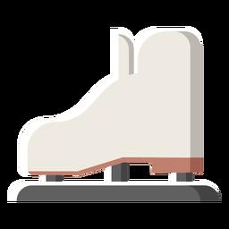 Ilustración de invierno patinaje sobre hielo