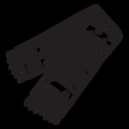Curso de vestuário xale xale