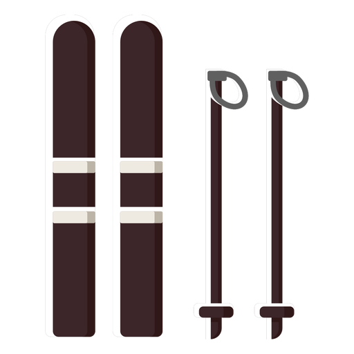 Ski gear equipment Transparent PNG
