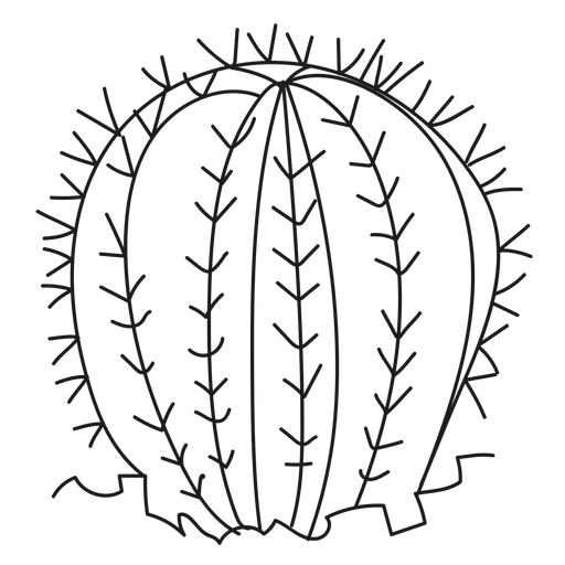 Ilustración de cactus espina Transparent PNG