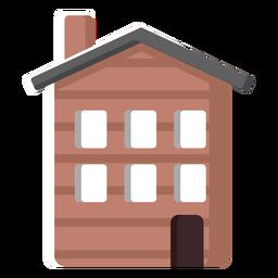 Ilustración de la casa tradicional finlandesa