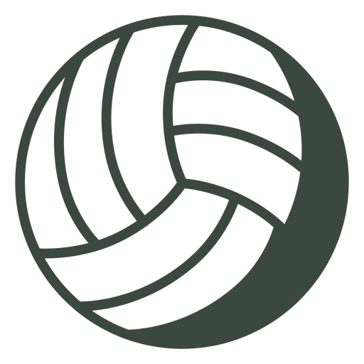 Volleyball ball sports icon Transparent PNG