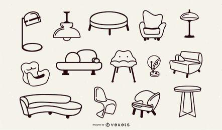 Colección Pop Art Furniture Stroke