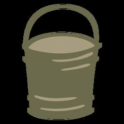 Garden pail green color