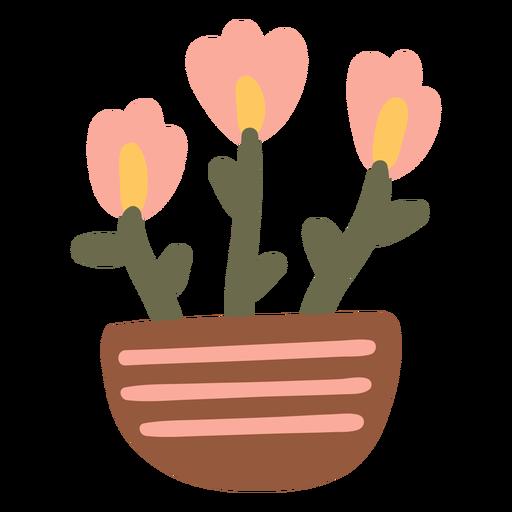 Garden flowers pot container