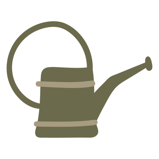 Watering Can green gardening Transparent PNG