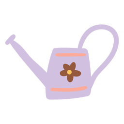 Watering Can with flower design