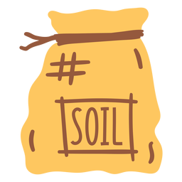 soil in sack flat