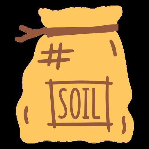 soil in sack flat Transparent PNG