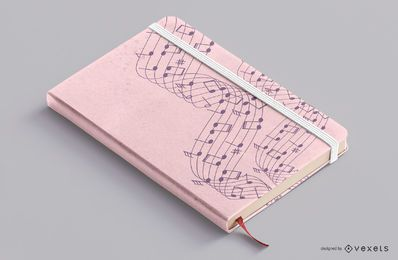 Musik Notebook Cover Design