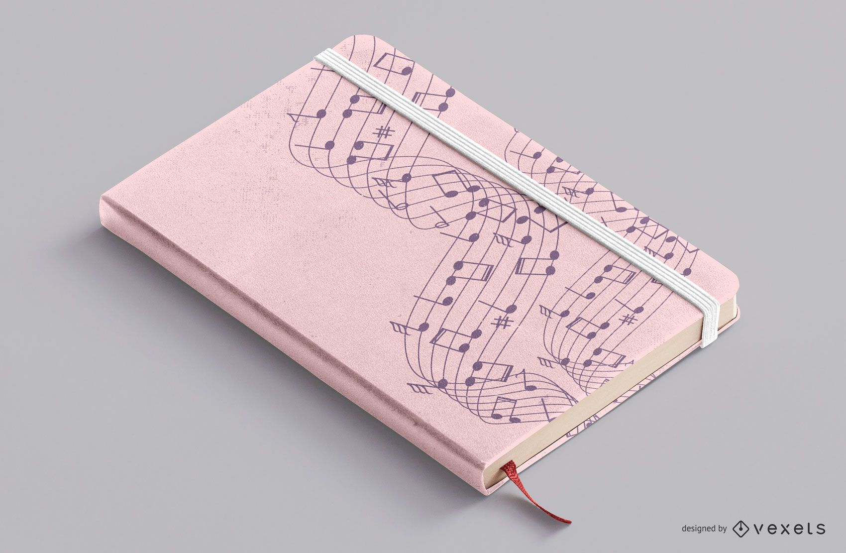 Music Notebook Cover Design