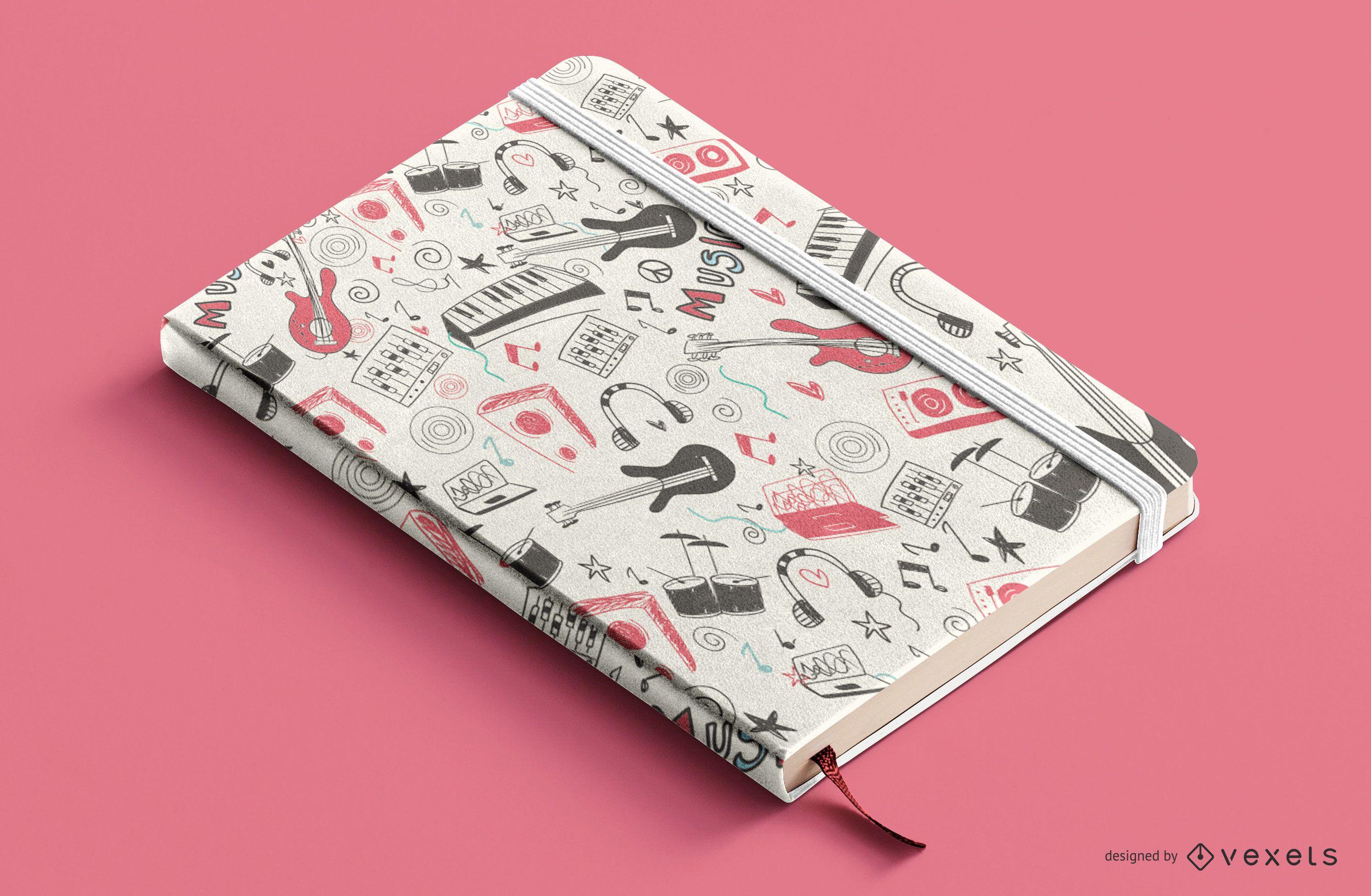 Design da capa do livro do Music Elements
