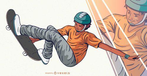 Skater Charakter Design
