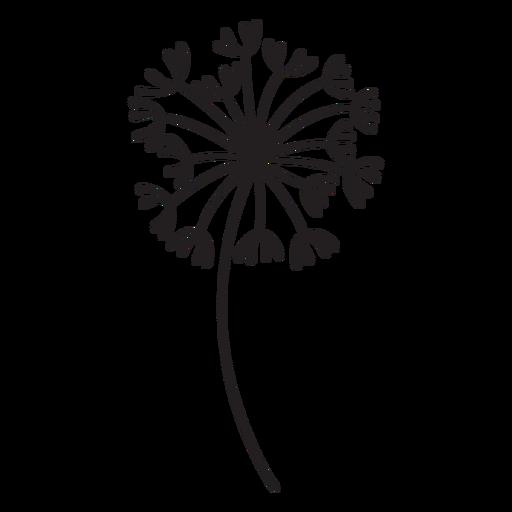 dandelion plant stroke