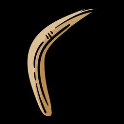 Boomerang hand drawn