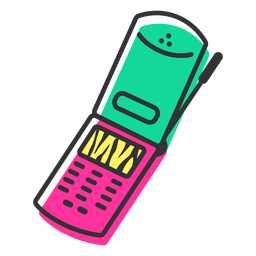 Cellphone flip icon