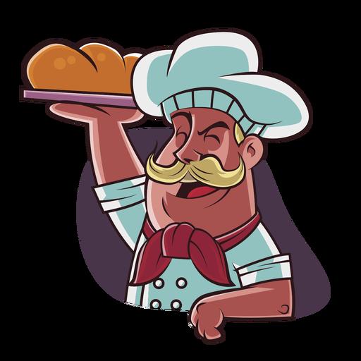 Chef dibujado a mano Transparent PNG