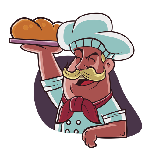 Chef hand drawn Transparent PNG