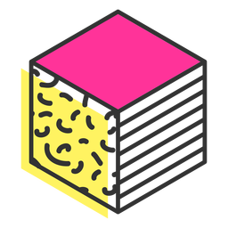 Ícone do cubo
