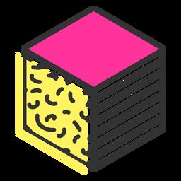 Icono de cubo