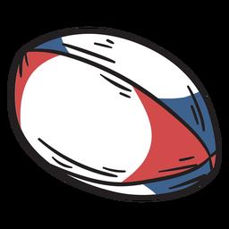 Mão de futebol desenhada