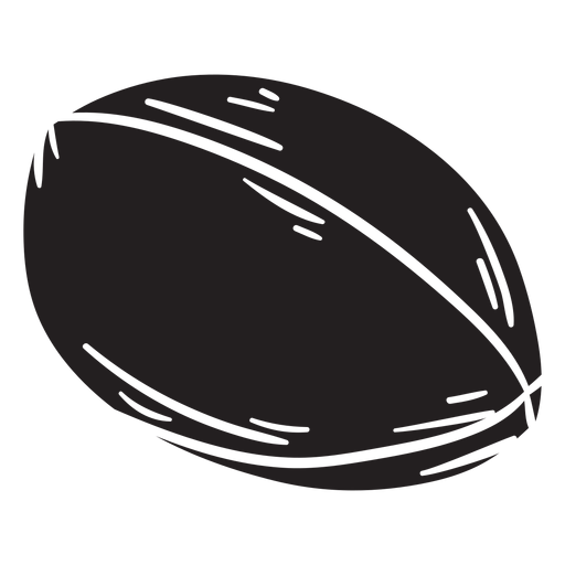 Football black Transparent PNG