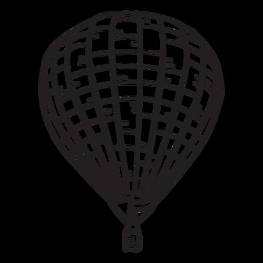 Hot air balloon stroke