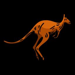 Känguru Hand gezeichnet