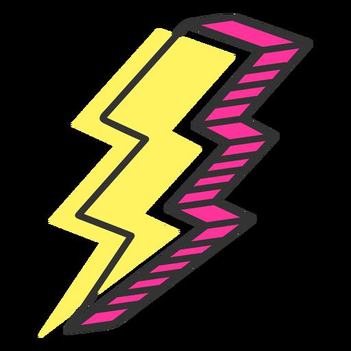 Icono de rayo Transparent PNG