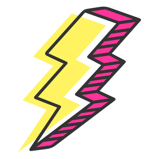 Lightning icon Transparent PNG