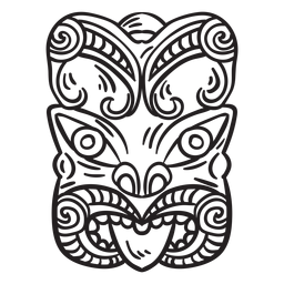 Curso de máscara maori