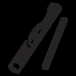 Instrumento musical negro