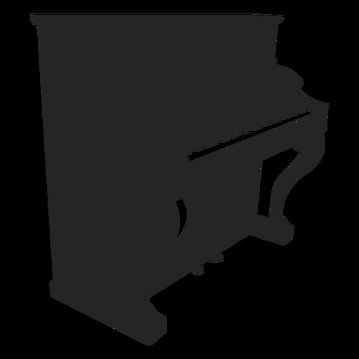 Piano black Transparent PNG