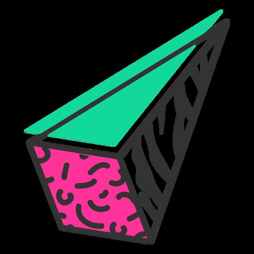 Icono de pirámide