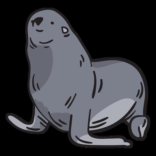 Sello animal dibujado a mano Transparent PNG