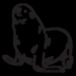 Curso de animais de selo